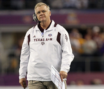 Former A&M head coach Mike Sherman