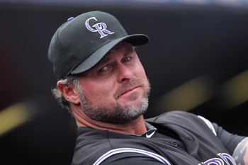 Giambi has had a long 18 year major league career