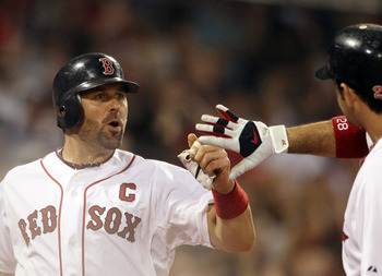 Varitek was the unquestioned leader of the Red Sox clubhouse
