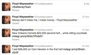 Image via @FloydMayweather