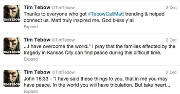Image via @TimTebow