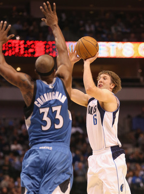 DALLAS, TX - NOVEMBER 12:  Troy Murphy #6 of the Dallas Mavericks at American Airlines Center on November 12, 2012 in Dallas, Texas.  NOTE TO USER: User expressly acknowledges and agrees that, by downloading and or using this photograph, User is consentin