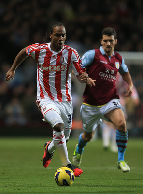 BIRMINGHAM, ENGLAND - DECEMBER 08:  Cameron Jerome of Stoke in action during the Barclays Premier League match between Aston Villa and Stoke City at Villa Park on December 8, 2012 in Birmingham, England.  (Photo by Richard Heathcote/Getty Images)