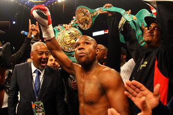 The notion that somehow Floyd Mayweather gained something from Pacquiao's defeat is ridiculous.