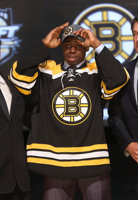 Malcolm Subban was the top-rated North American goaltender in this year's draft.
