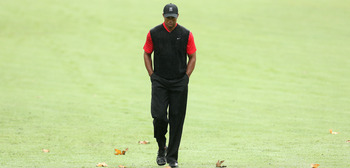 It's been a long walk, but Tiger Woods might be ready for another run.