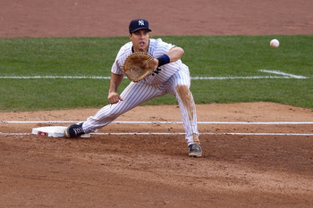 Mark Texeira is the only certainty for the Yankees infield of 2015