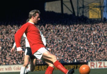 Mar 1968:  Denis Law of Manchester United. \ Mandatory Credit: Allsport UK /Allsport