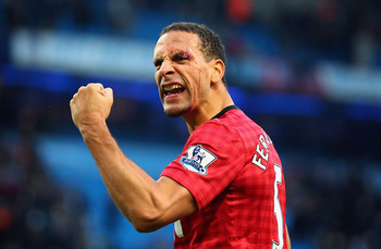 Rio Ferdinand has led by example at Manchester United this season