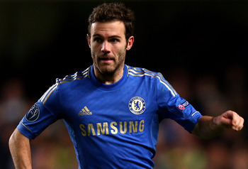 Juan Mata has continued his fine start to life in England