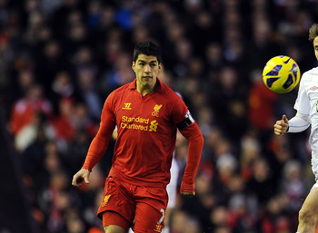 Suarez has carried the fortunes of Liverpool this season.