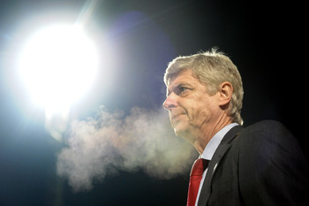 Arsene Wenger is under the spotlight at Arsenal after recent results