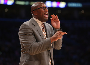 Former Los Angeles Lakers Coach Mike Brown