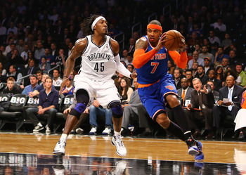 We're finally seeing the Carmelo Anthony that New York traded for.