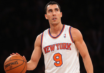 Prigioni has showed flashes of great play this year.
