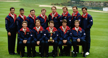 Captain Tom Watson and his team were the last U.S team to win the Ryder Cup on European turf.