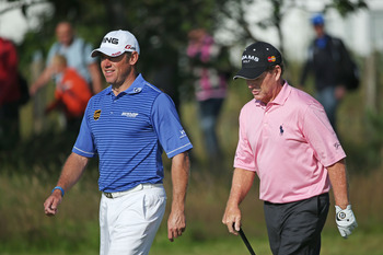 Tom Watson still enjoys playing with PGA Tour players like Lee Westwood.