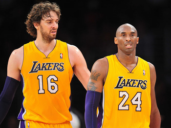Pau Gasol has had to hear a lot from Kobe this season.