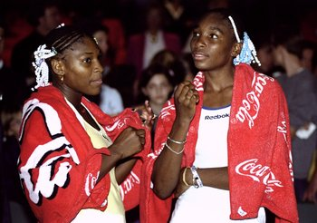 Teenage Venus and Serena met in the final of the Miami Masters in 1999
