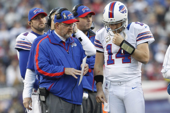 In his third year with Buffalo, Chan Gailey has become more conservative than ever.