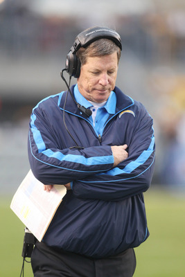 Another exasperating moment for Norv Turner in 2012.
