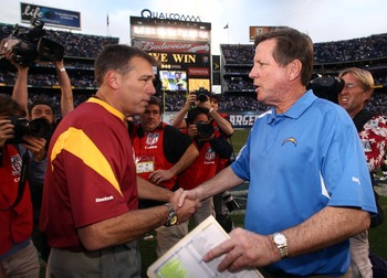 The Washington Redskins were coached by several members of this list, including these two men.