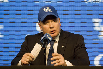 Kentucky head coach Mark Stoops