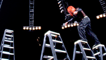 Ladder matches are some of the most exciting matches the WWE has to offer. Photo courtesy of WWE.com