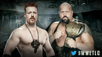 Sheamus and Big Show will fight for the third pay-per-view in a row on Sunday. Photo courtesy of WWE.com