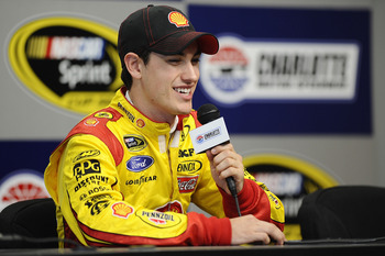 Joey Logano may be 22, but he doesn't look a day over 18!