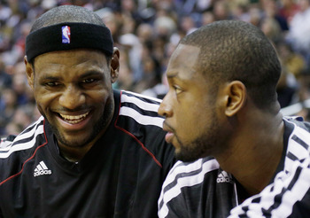LeBron James and Dwyane Wade have learned not to catastrophize things.