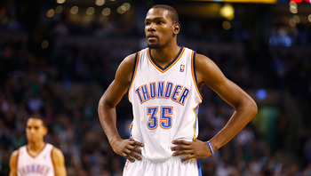 Kevin Durant doesn't need James Harden in Oklahoma City