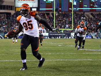 Wallace Gilberry was the surprising star of the Bengals defensive line against the Eagles.