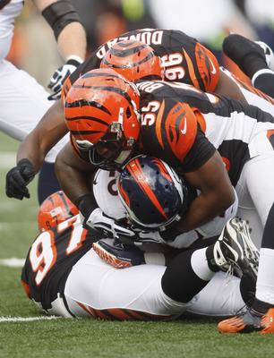 Rookie Vontaze Burfict continues to impress with great open-field tackling and his ability to close in on ball-carriers quickly.