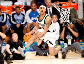 Gerald Green can genuinely soar.