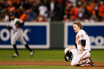 The Orioles did not tender a contract to Mark Reynolds.