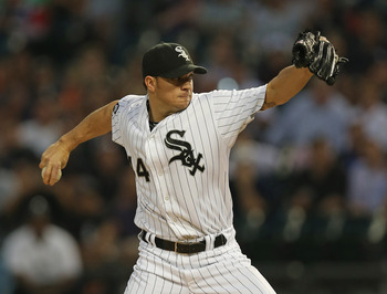 Jake Peavy re-signed with the White Sox.