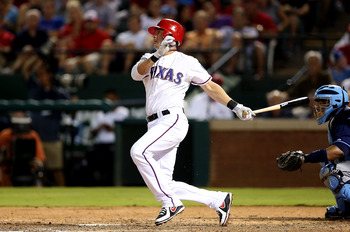 The Rangers traded their all-time hits leader, Michael Young.