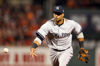 Robinson Cano of the New York Yankees.