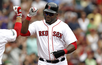 David Ortiz of the Boston Red Sox.