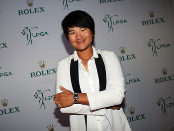 Yani Tseng won three events in 2012 but all were before April.