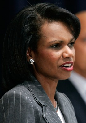 Condoleezza Rice became one of the first two female members of Augusta National