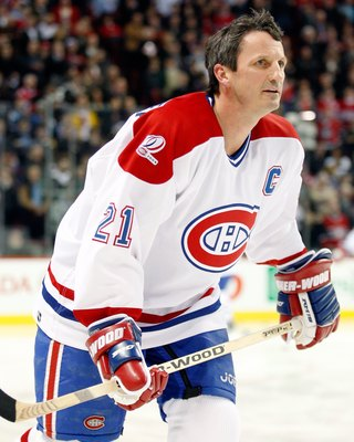 Guy Carbonneau of the Montreal Canadiens.
