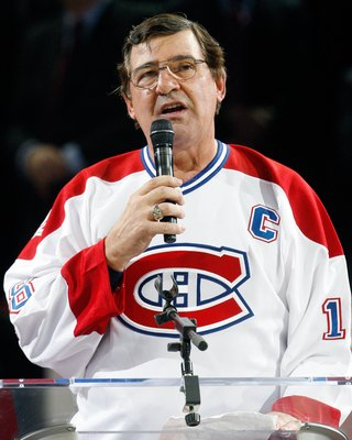 Serge Savard of the Montreal Canadiens.