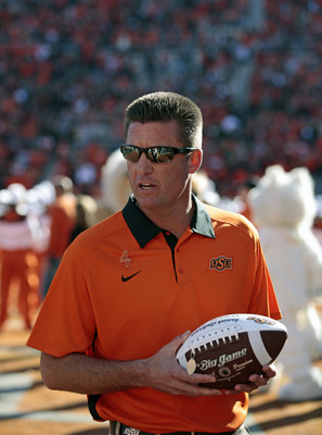 Mike Gundy never seemed to be interested in wearing Tennessee orange.