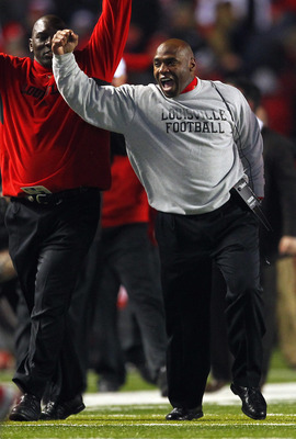 Charlie Strong just couldn't bolt from the Louisville Cardinals.