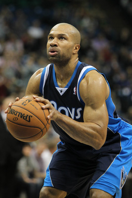 Dec 15, 2012; Minneapolis, MN, USA; Dallas Mavericks guard Derek Fisher (6) shoots a free throw during the second quarter against the Minnesota Timberwolves at the Target Center. The Wolves defeated the Mavericks 114-106 in overtime. Mandatory Credit: Bra