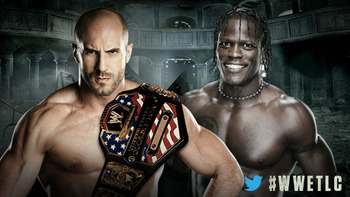 Antonio Cesaro vs. R-Truth (Courtesy of WWE.com)