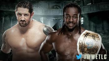 Wade Barrett vs. Kofi Kingston (Courtesy of WWE.com)