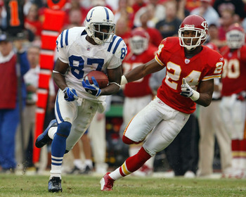 Reggie Wayne looks to extend his great 2012 season against the Chiefs.